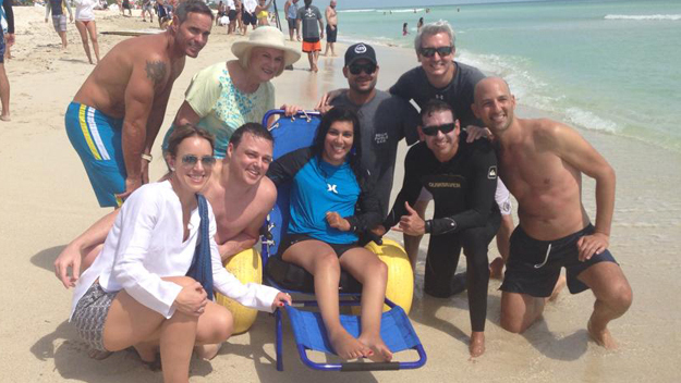 Miami Beach Debuts Adaptive Beach For Those With Disabilities