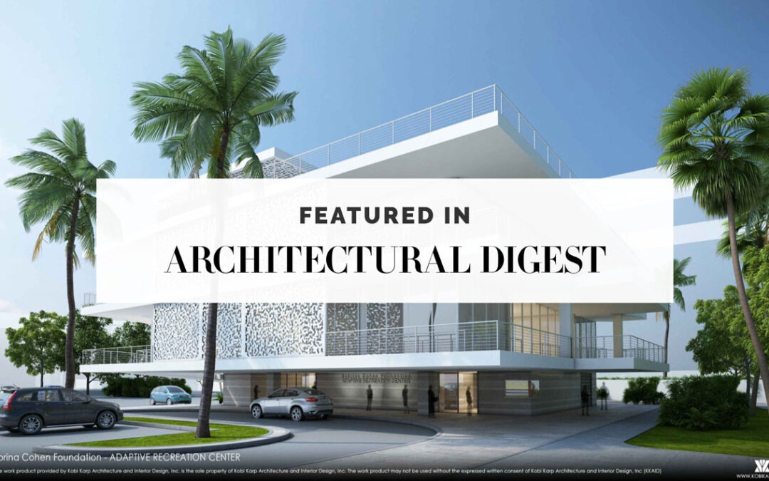 Adaptive Recreation Center featured in Best Pro-Bono Projects for 2019 by Architectural Digest