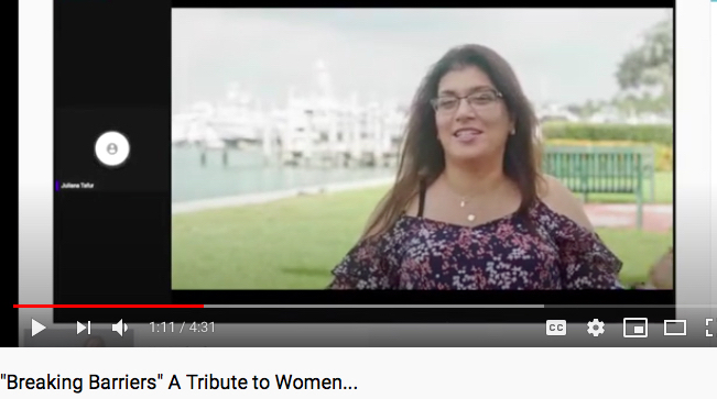 """Sabrina Cohen Featured in """"Breaking Barriers"""" Film"""