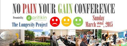 No Pain Your Gain Conference with Keynote Speaker Sabrina Cohen