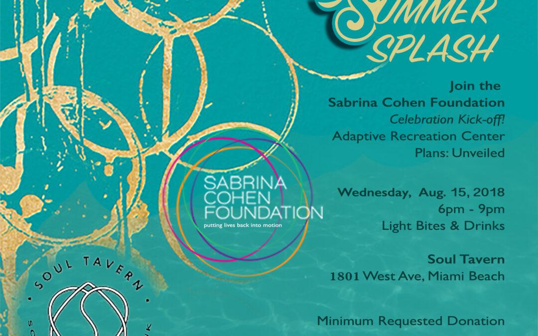 Summer Splash Celebration
