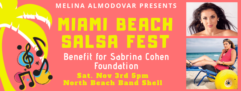 Salsa Festival w/ Melina to Benefit the Sabrina Cohen Foundation