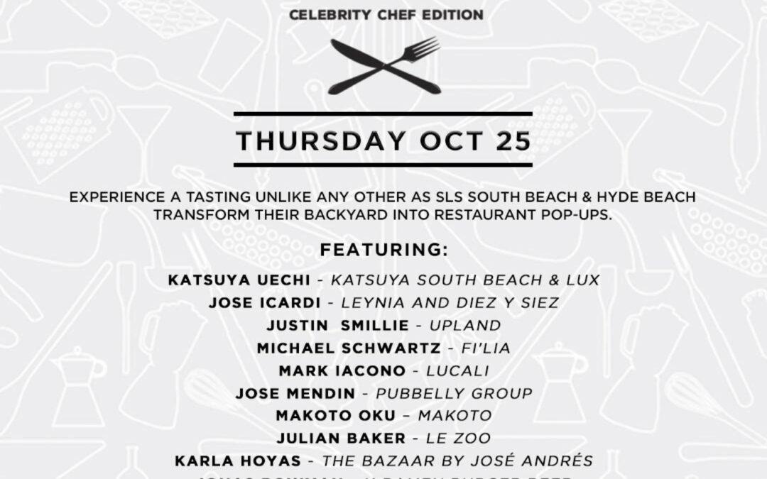 Taste Celebrity Chef Edition