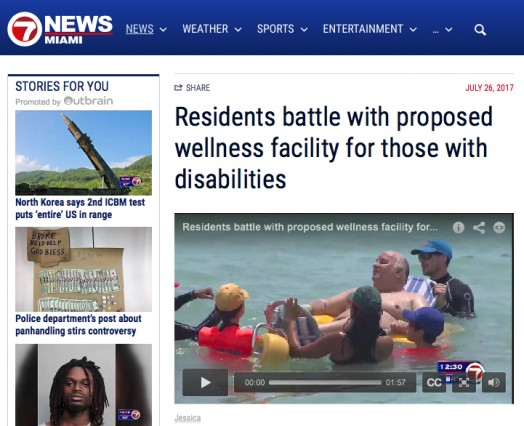Residents battle with proposed wellness facility for those with disabilities