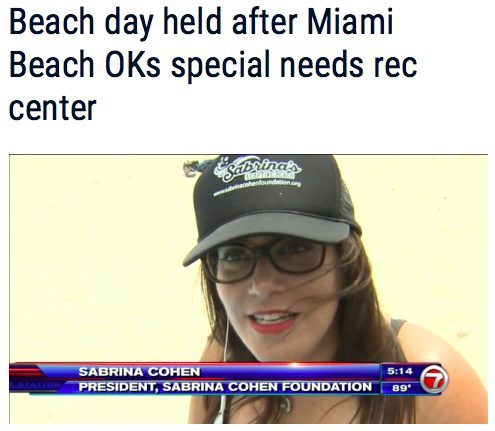 Beach day held after Miami Beach OKs special needs Recreation Center