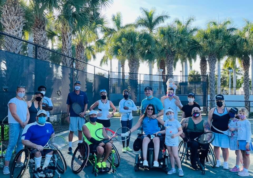 New Wheelchair Tennis Program